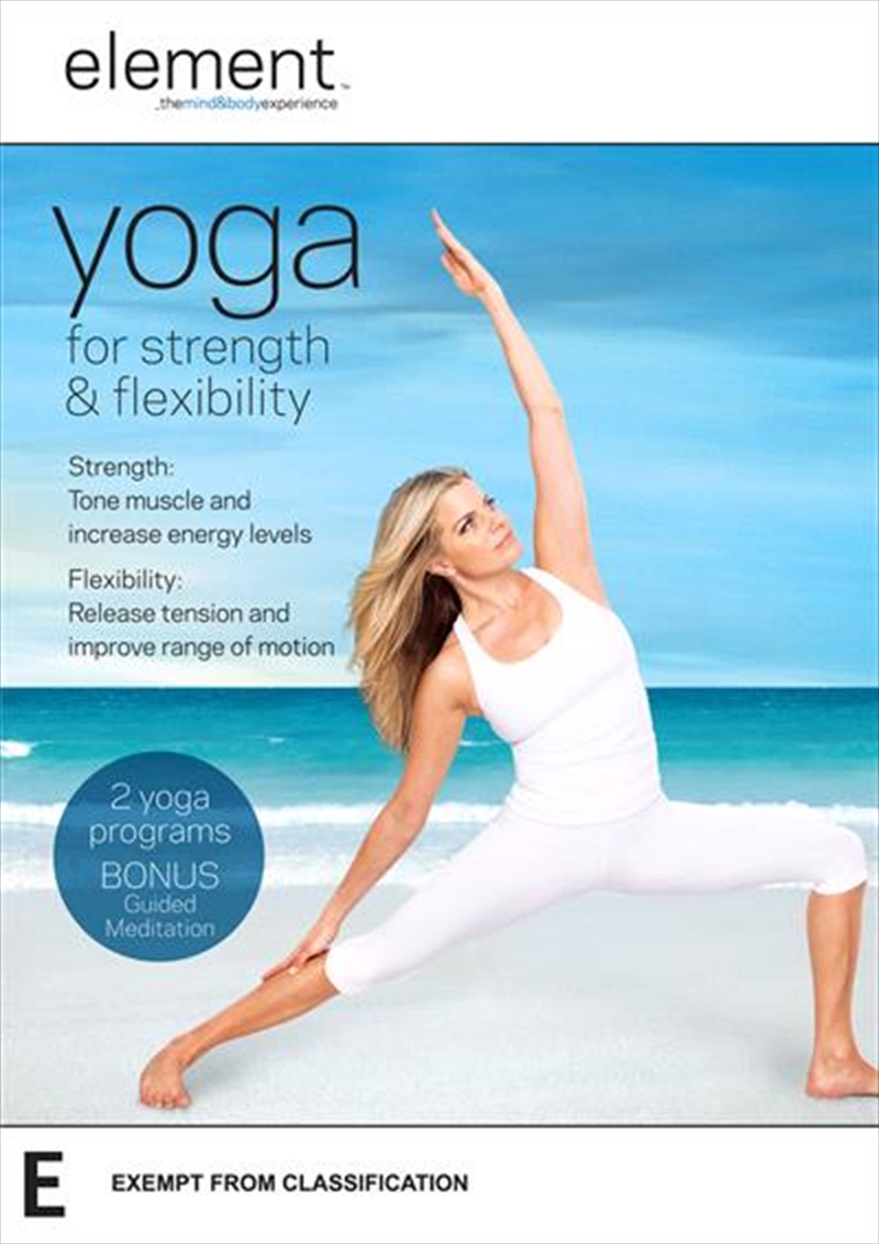 Element - Yoga For Strength and Flexibiltiy | DVD