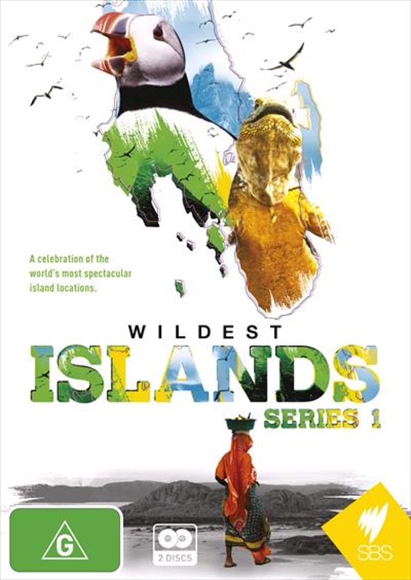 Wildest Islands - Series 1   DVD