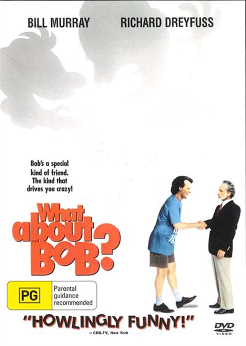 What About Bob Comedy Dvd Sanity