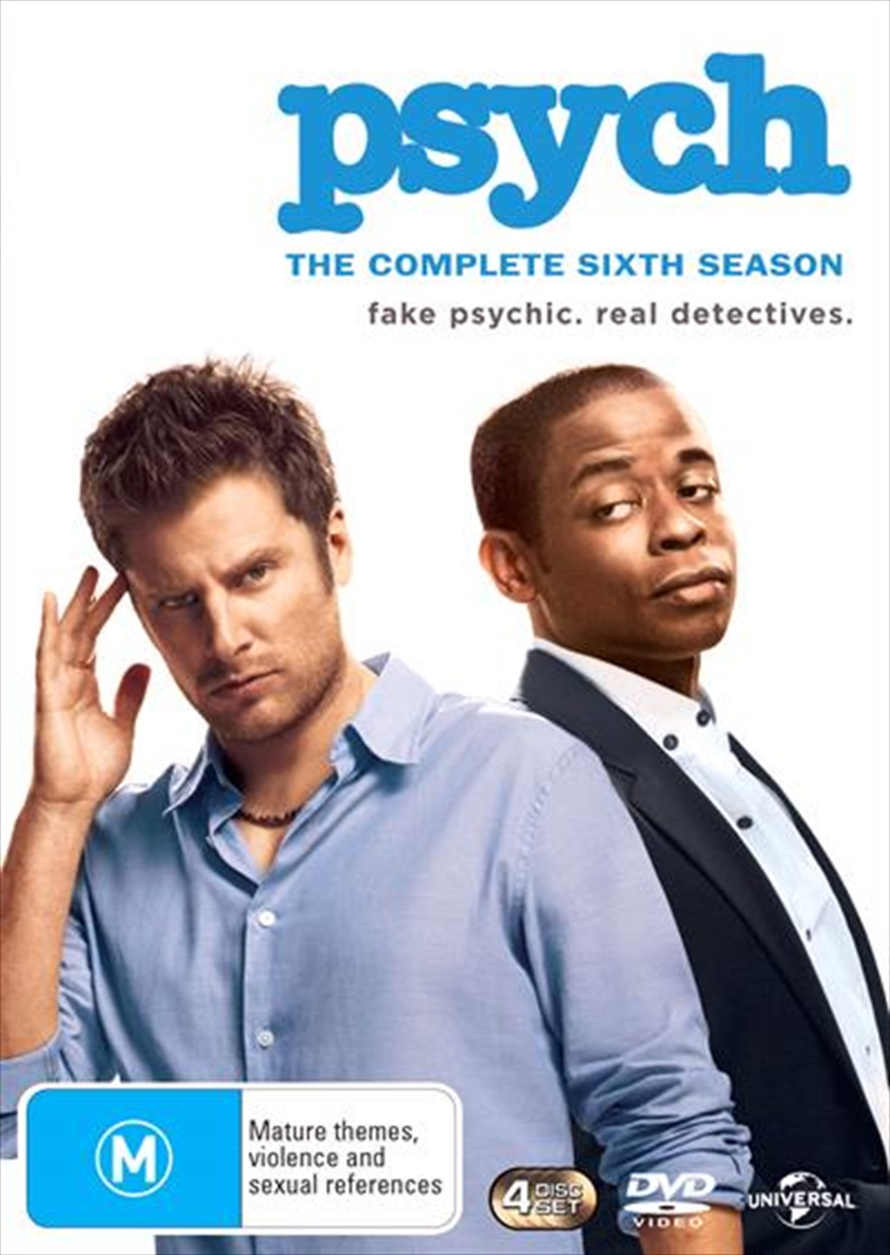 Psych - Season 6 | DVD