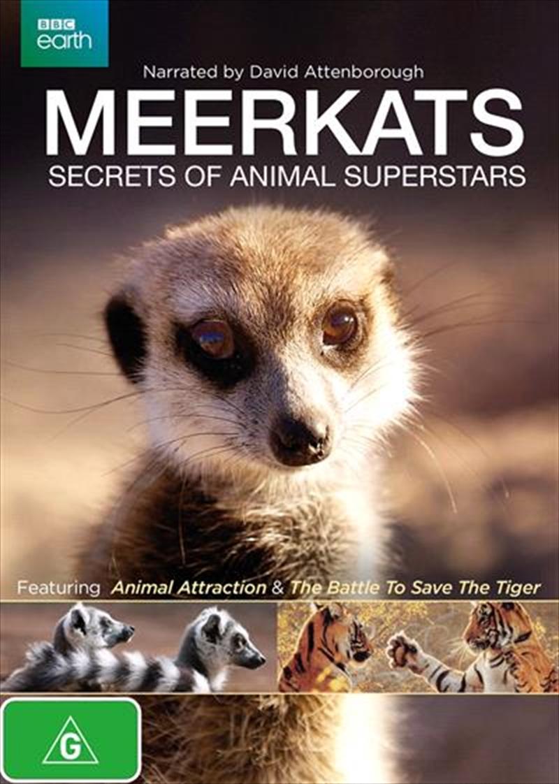 Meerkats - Secrets Of An Animal Superstar | DVD