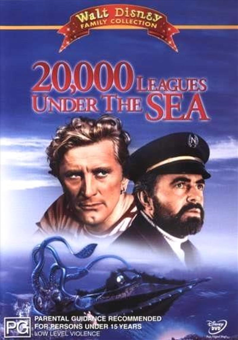 20,000 Leagues Under The Sea | DVD