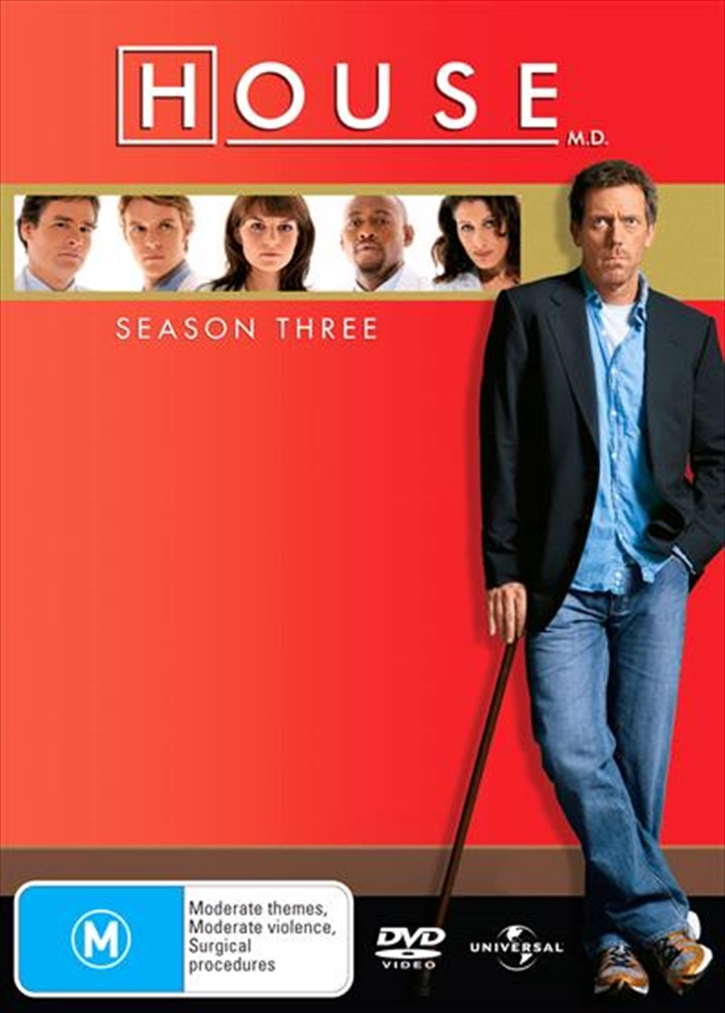 House, M.D. - Season 3 | DVD