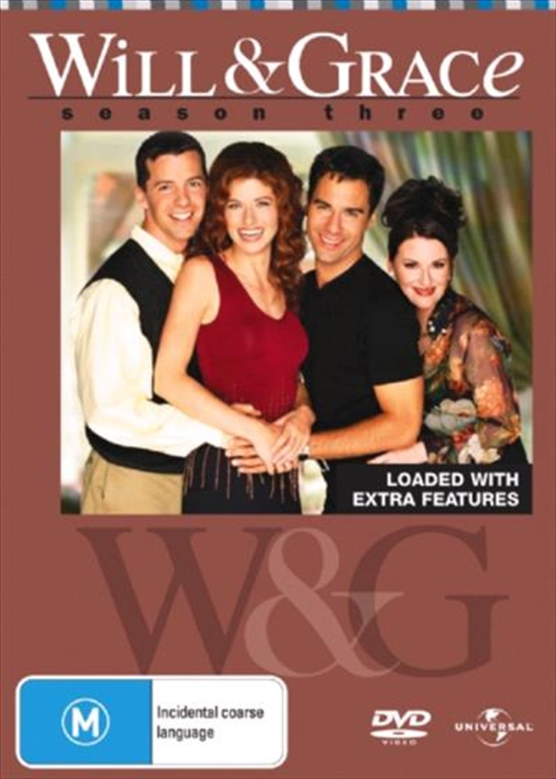 Will and Grace - Season 03 | DVD