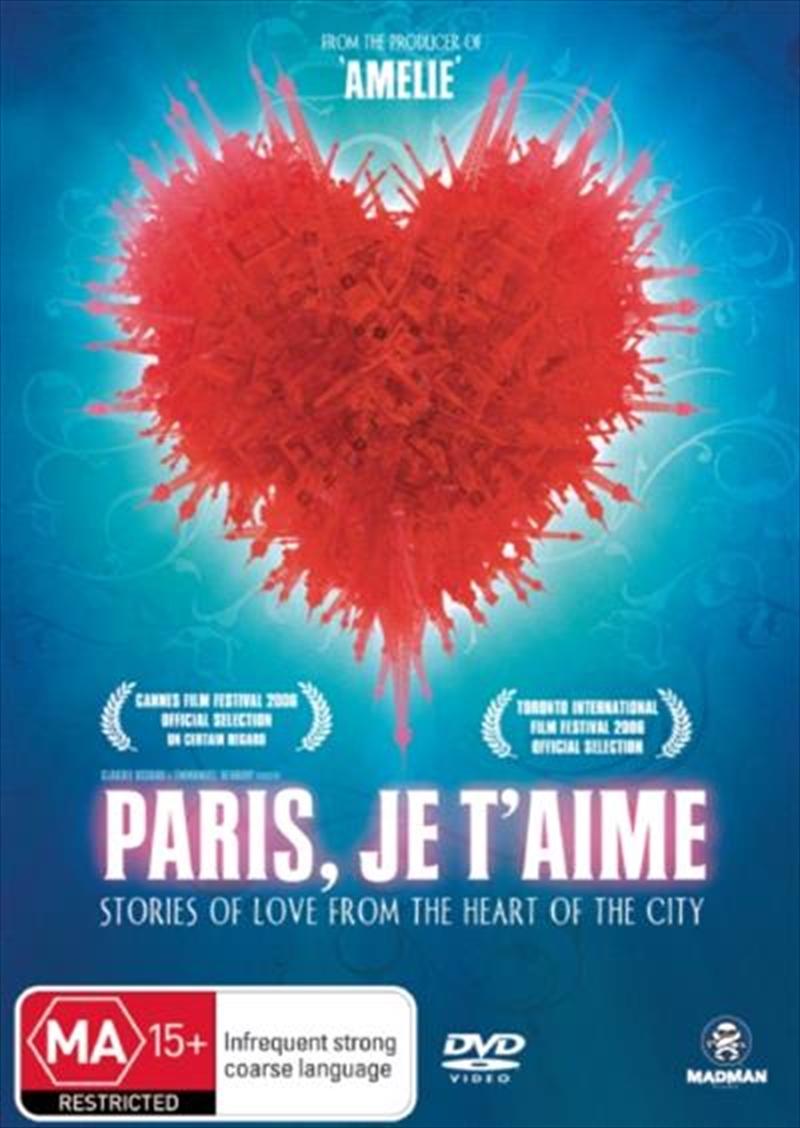 Paris J'Taime | DVD