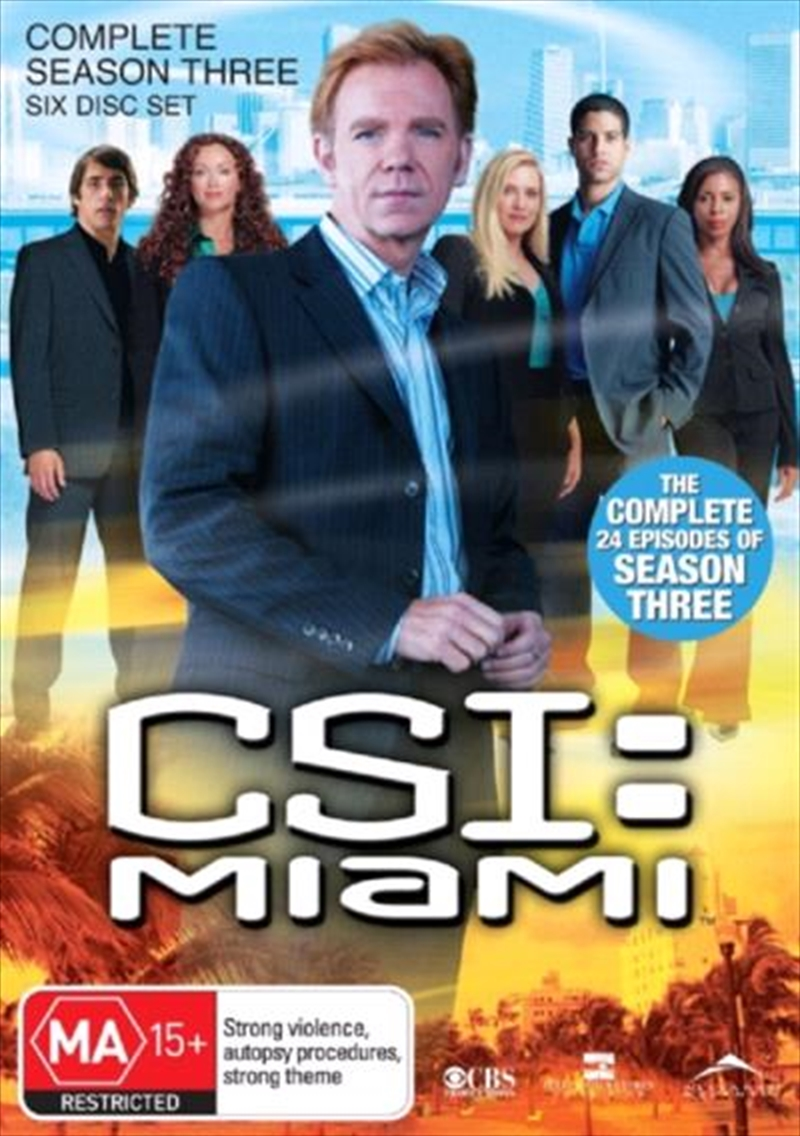 CSI: Miami - Season 03 | DVD