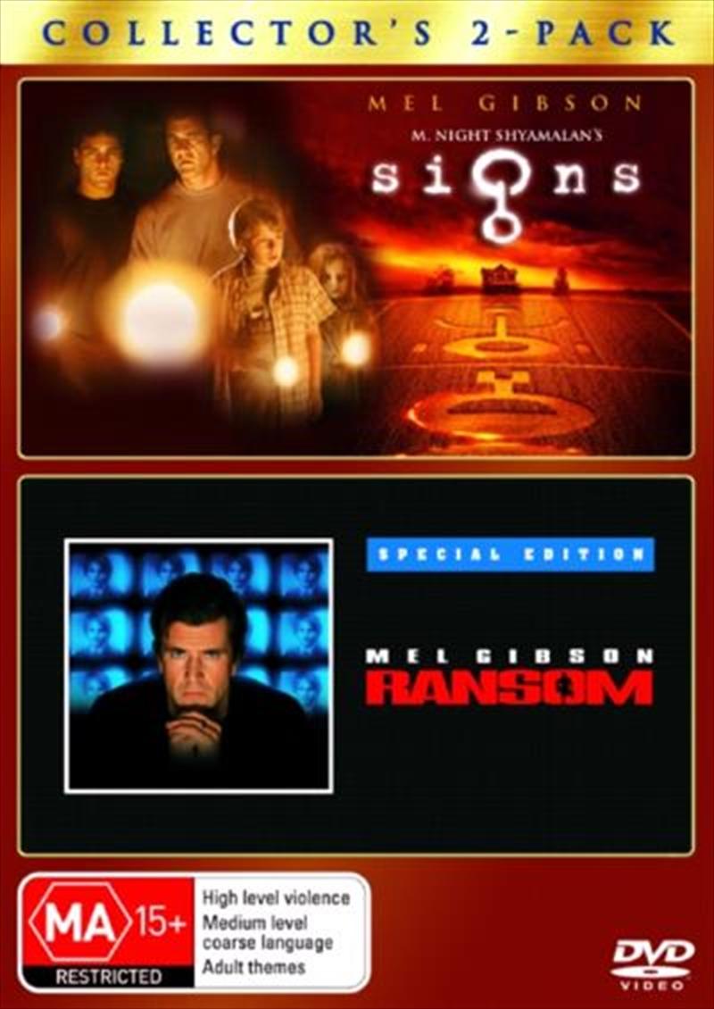 Signs / Ransom   DVD