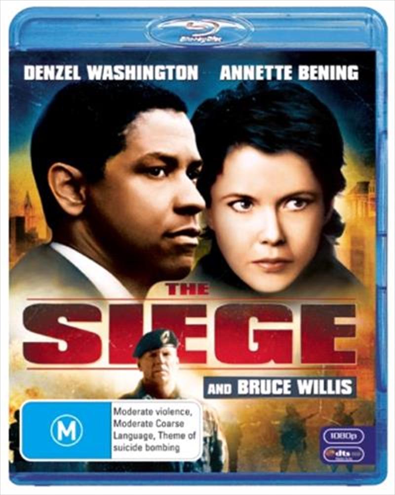Siege, The   Blu-ray
