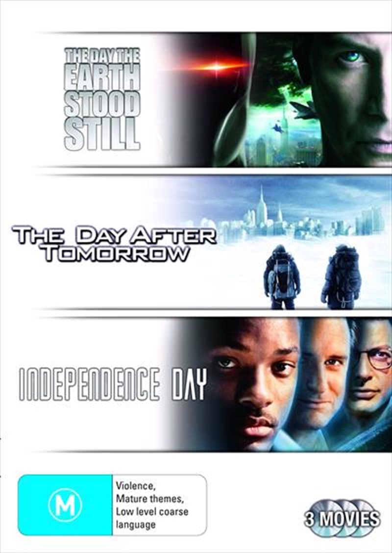Day The Earth Stood Still / The Day After Tomorrow / Independence Day, The | DVD