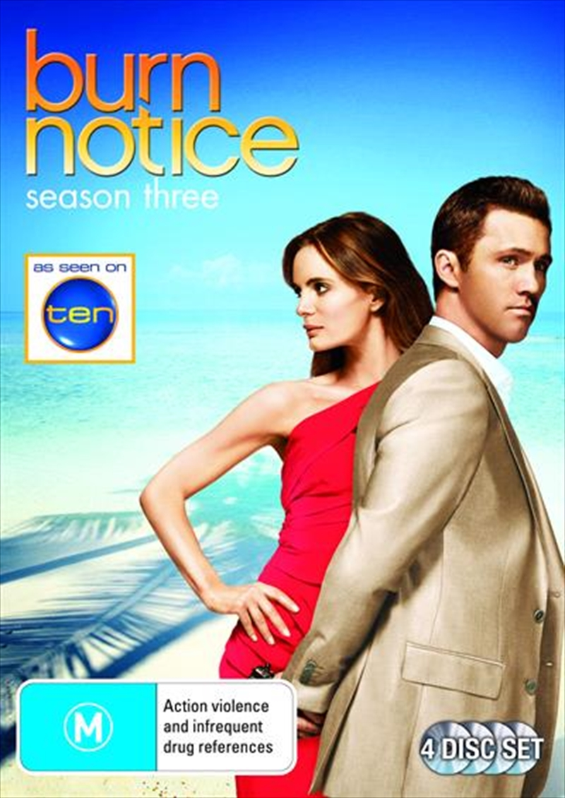 Burn Notice - Season 3 | DVD
