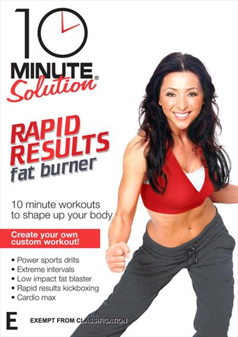 10 Minute Solution: Rapid Results Fat Burner | DVD