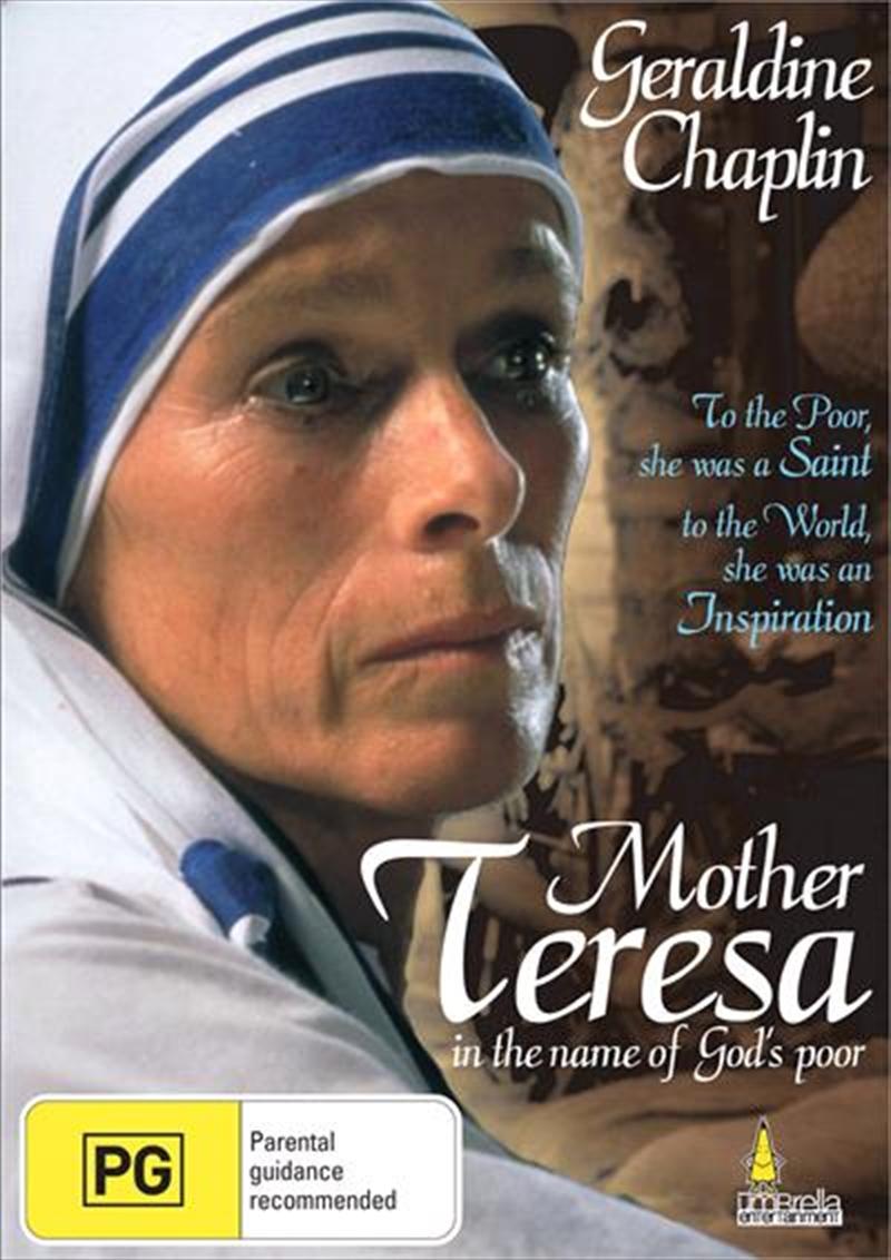 Mother Teresa - In The Name Of God's Poor Drama, DVD   Sanity