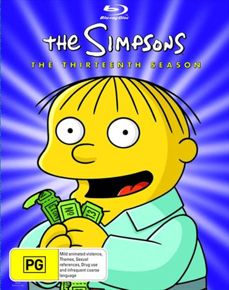 Simpsons - Season 13, The | Blu-ray