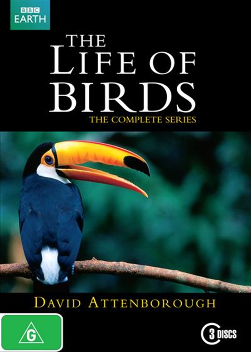 David Attenborough's The Life Of Birds: The Complete Series | DVD