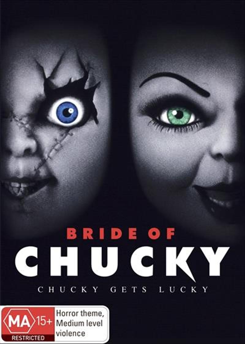 bride of chucky horror  dvd
