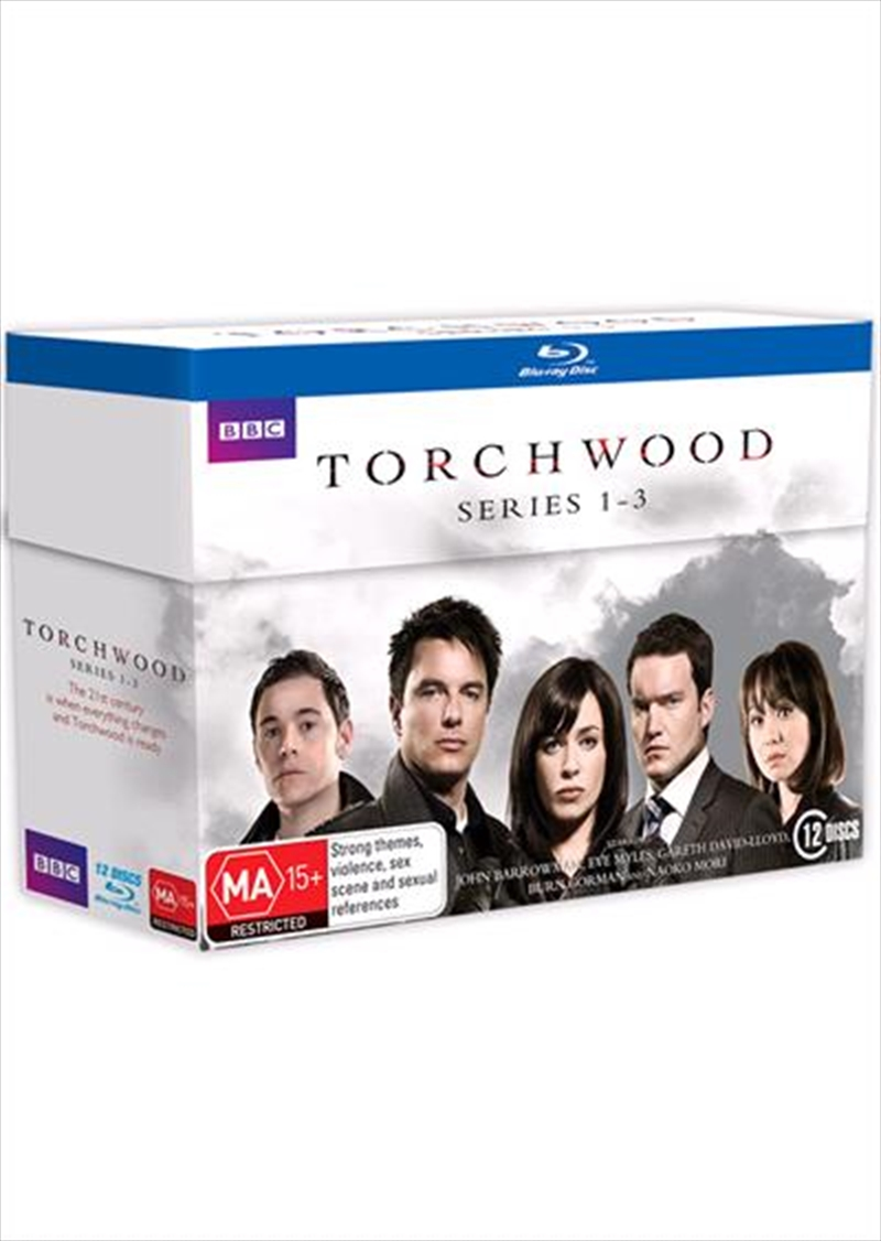 Torchwood - Series 1-3 Boxset | Blu-ray