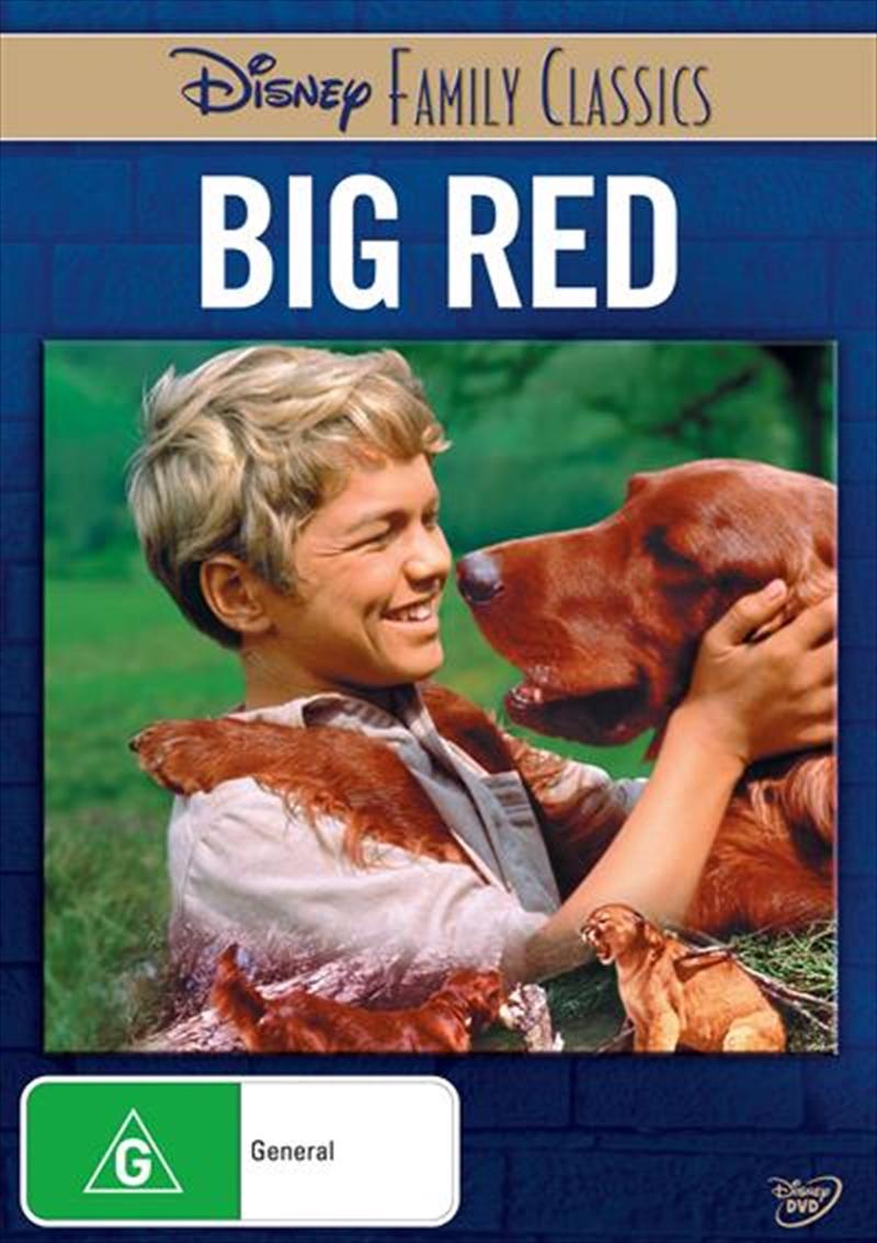 Big Red Disney Family Classics | DVD