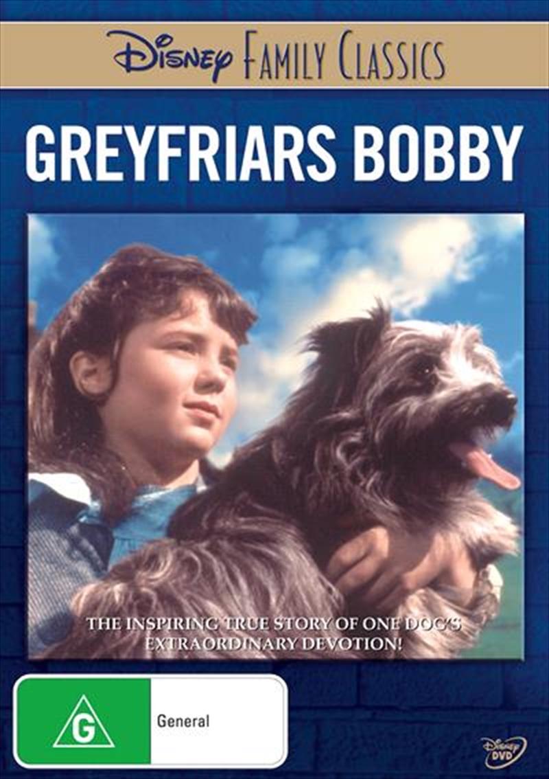 Greyfriars Bobby Disney Family Classics | DVD