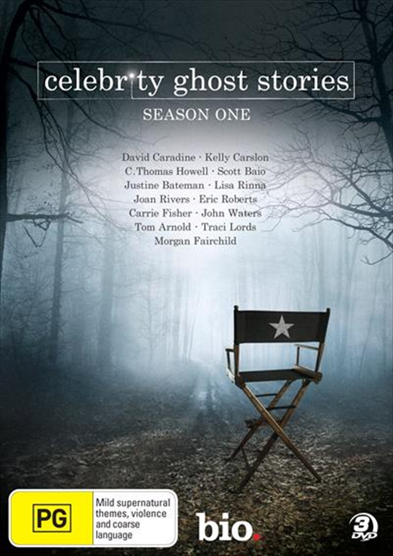 Celebrity ghost stories scripted