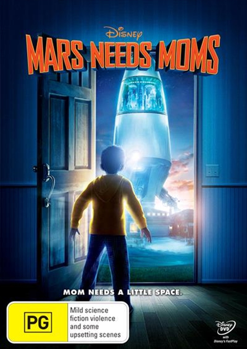 Mars Need Moms | DVD