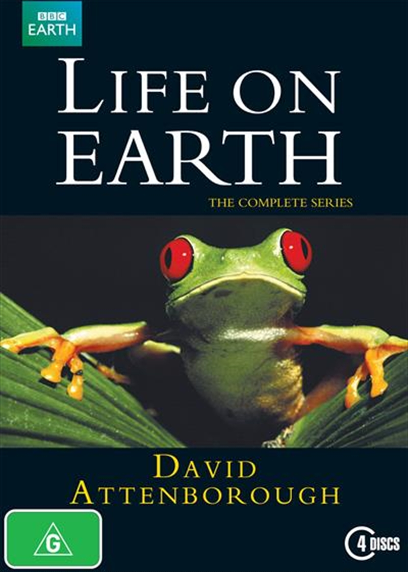 David Attenborough: Life On Earth: The Complete Series | DVD