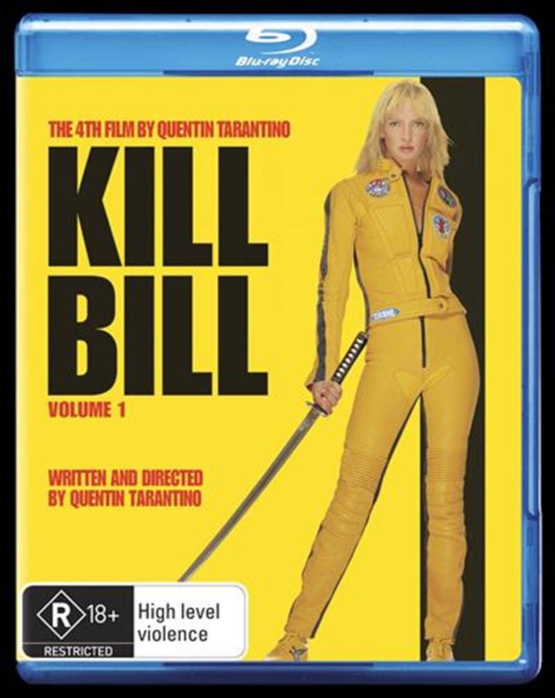 Kill Bill - Vol 01   Blu-ray