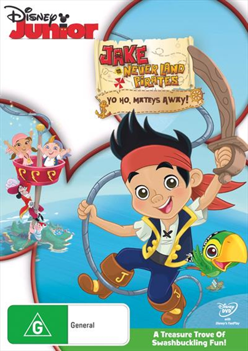 Jake And The Never Land Pirates - Yo Ho, Mateys Away! | DVD