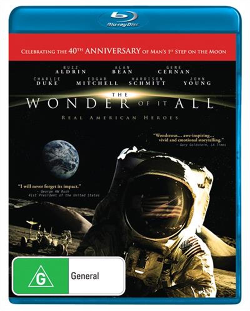 Wonder Of It All   Blu-ray