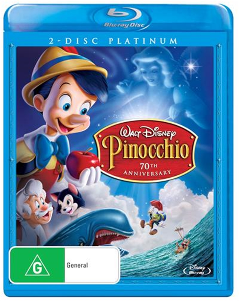 Pinocchio - Platinum Edition | Blu-ray
