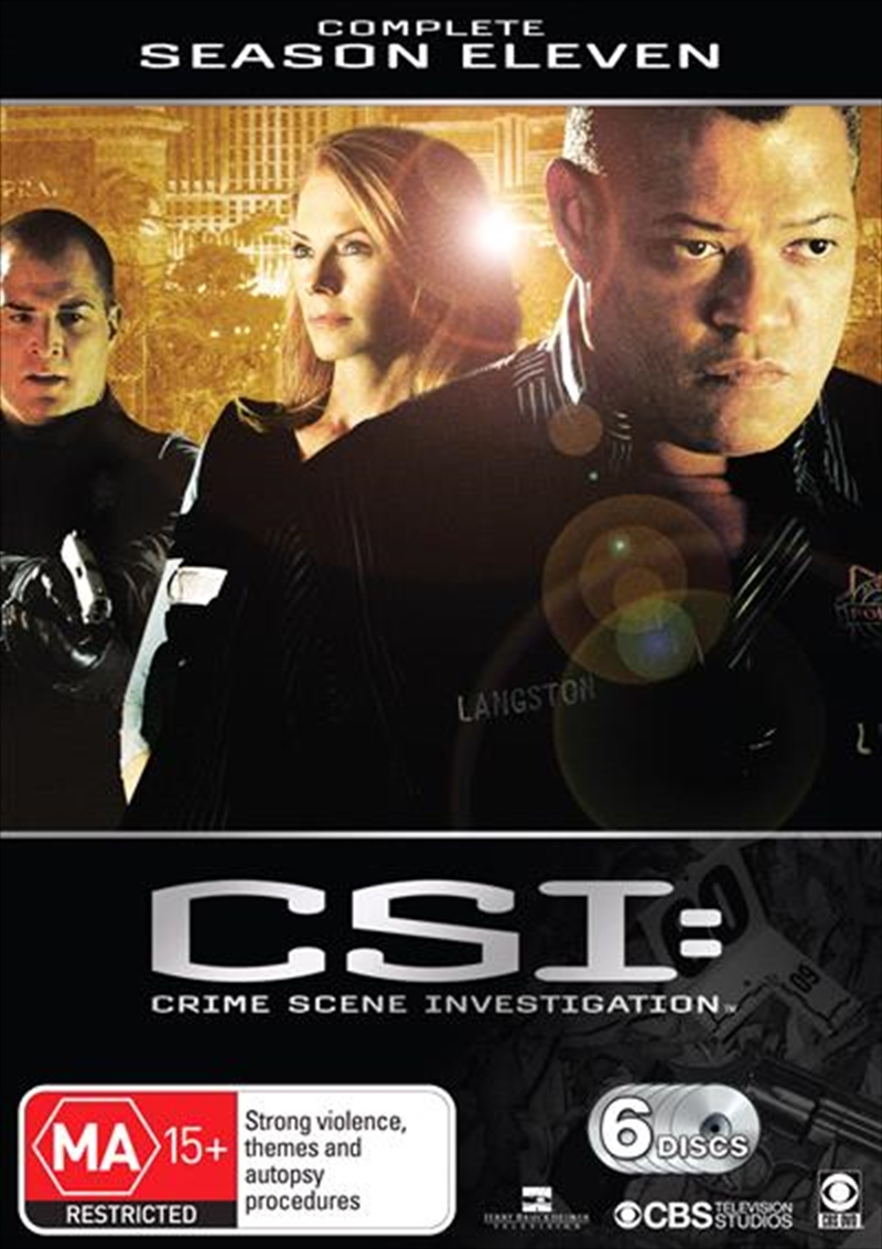 CSI: Crime Scene Investigation - Season 11 | DVD