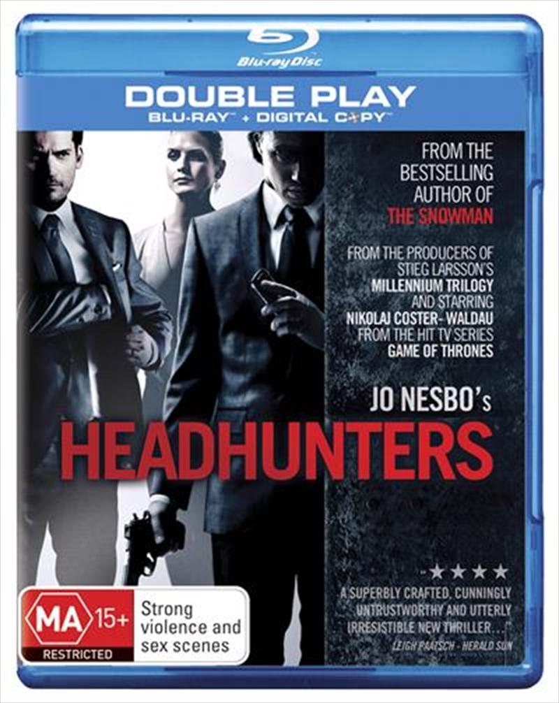 Headhunters | Blu-ray + Digital Copy | Blu-ray