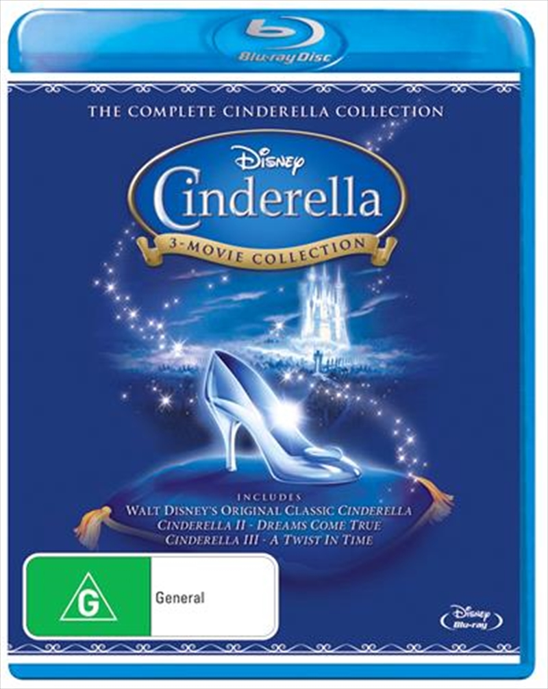 Cinderella - 3 Movie Collection | Blu-ray