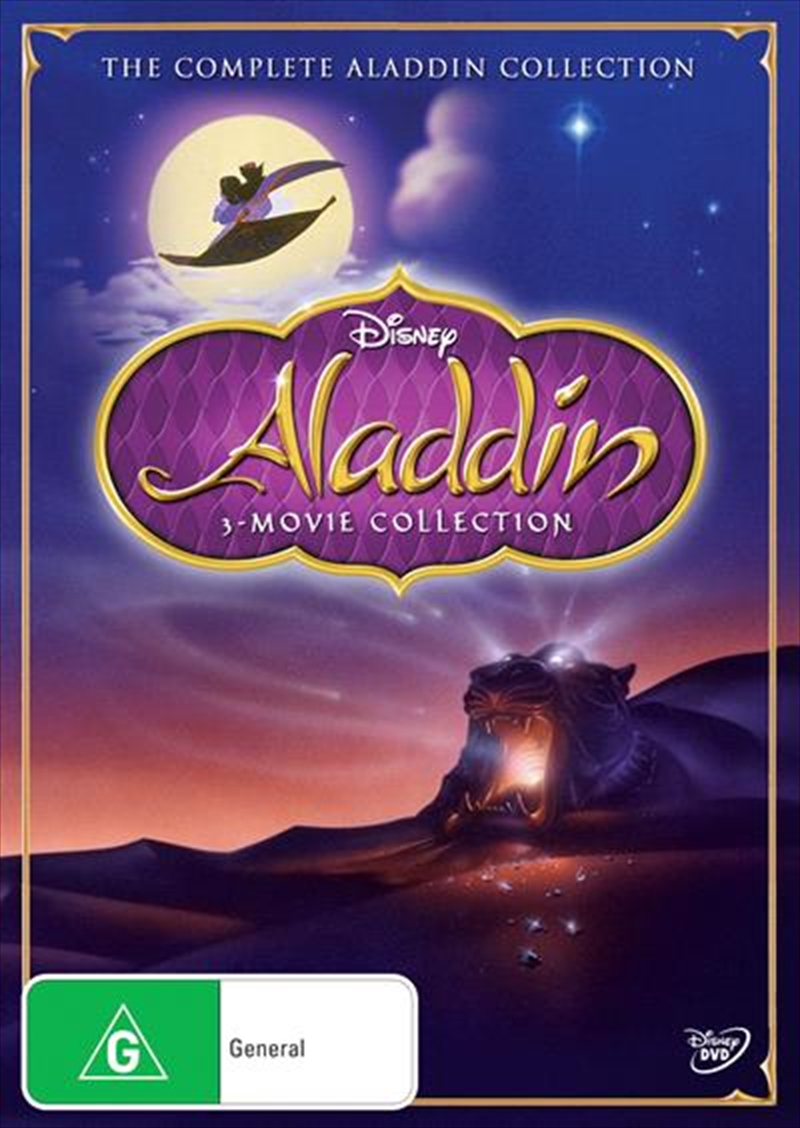 Aladdin Triple Movie Pack | DVD