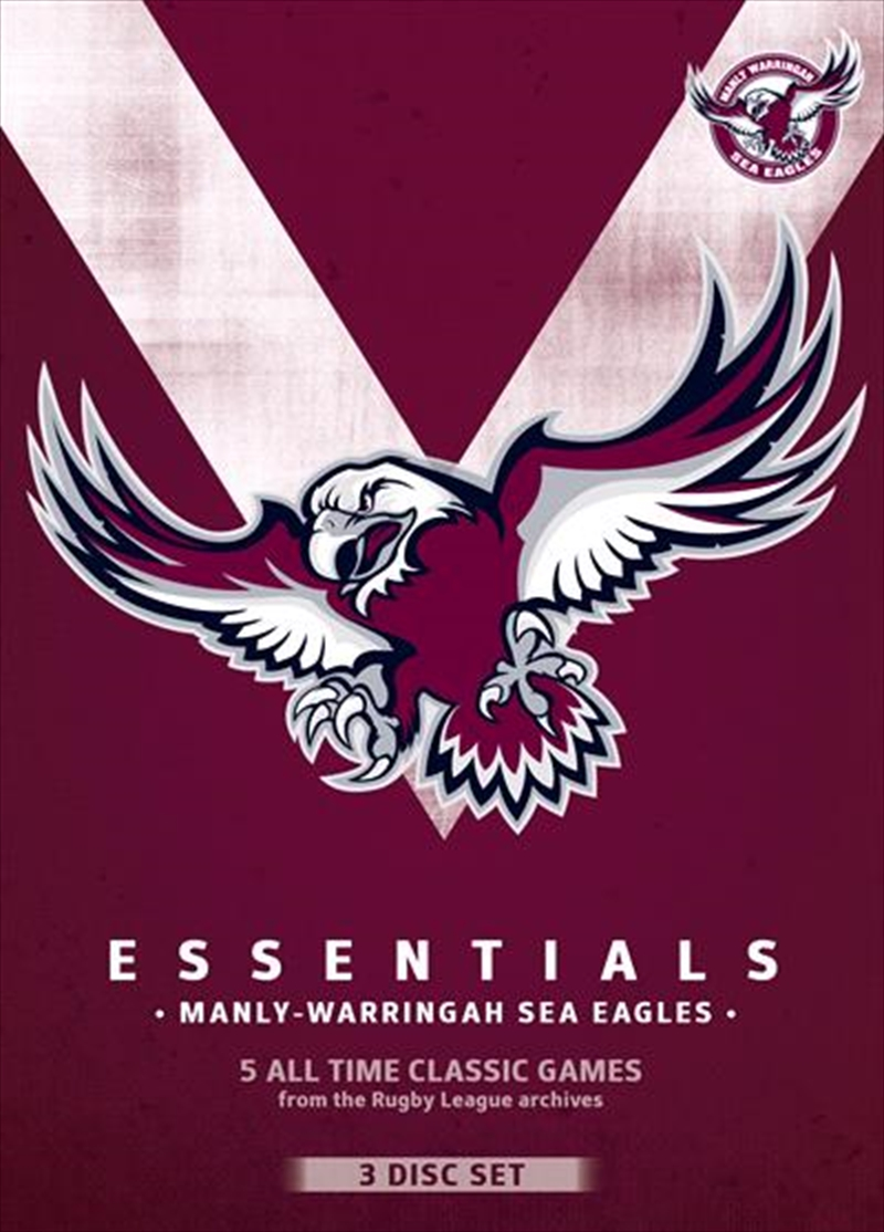 NRL: Essentials: Manly-Warringah Sea Eagles   DVD