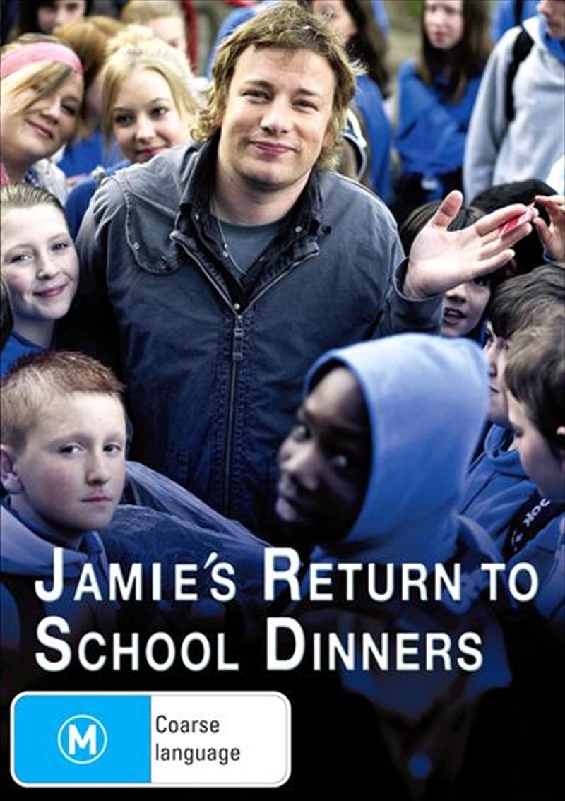 Jamie's Return To School Dinners   DVD