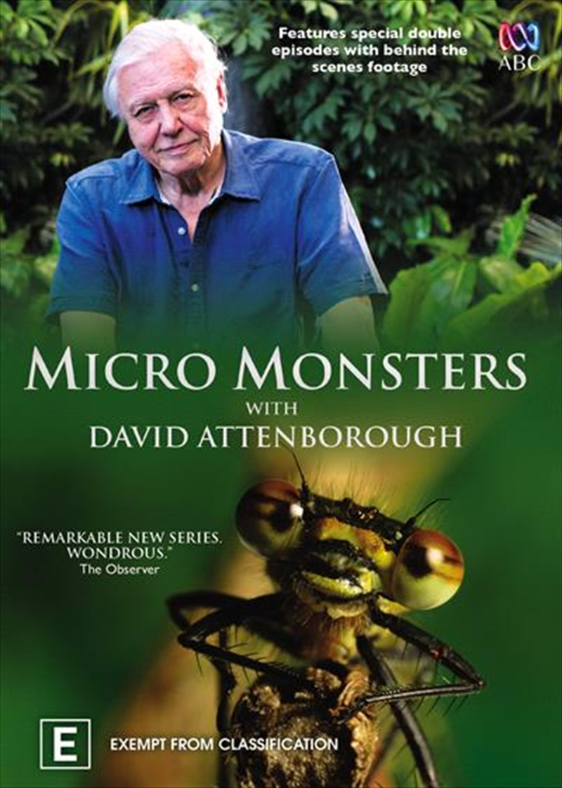 David Attenborough - Micro Monsters | DVD