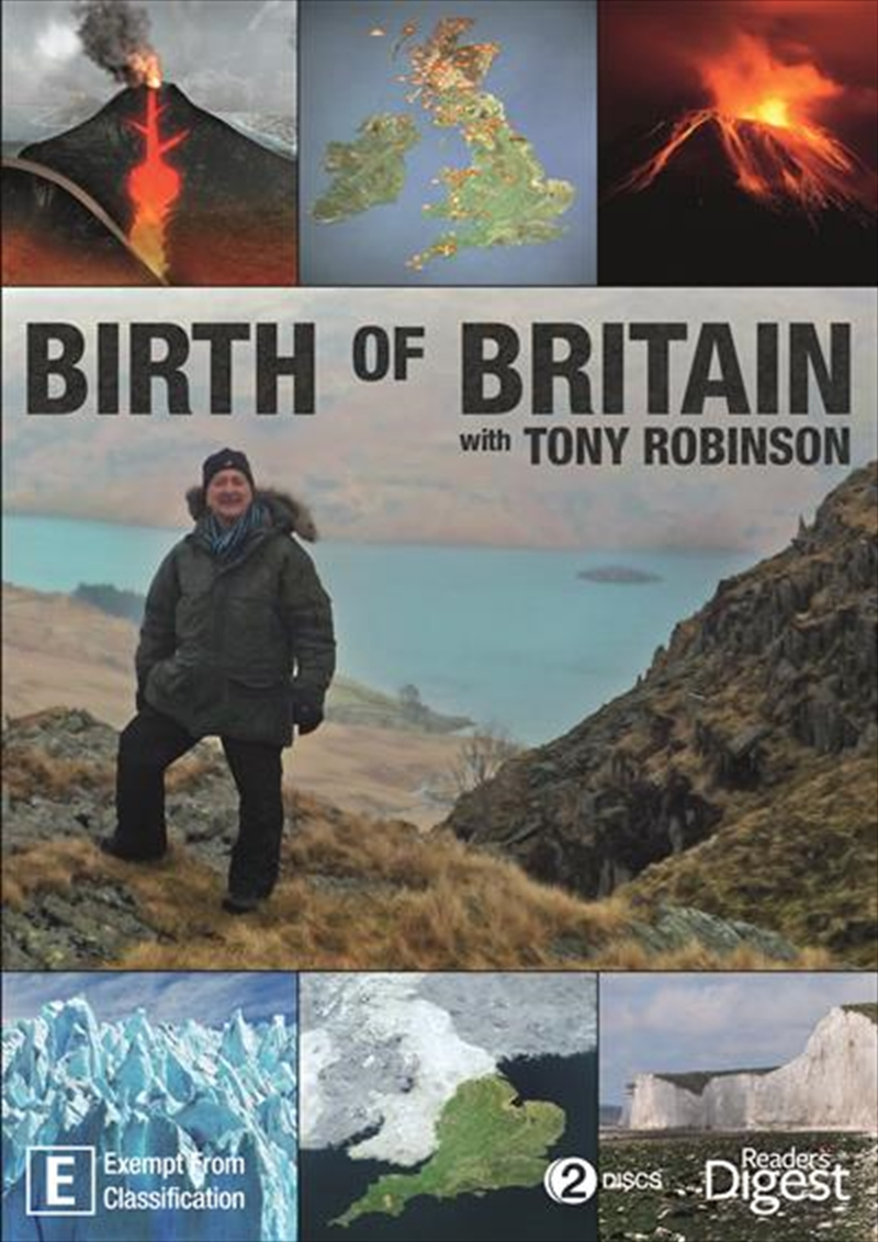 Birth Of Britain With Tony Robinson Documentary Dvd Sanity