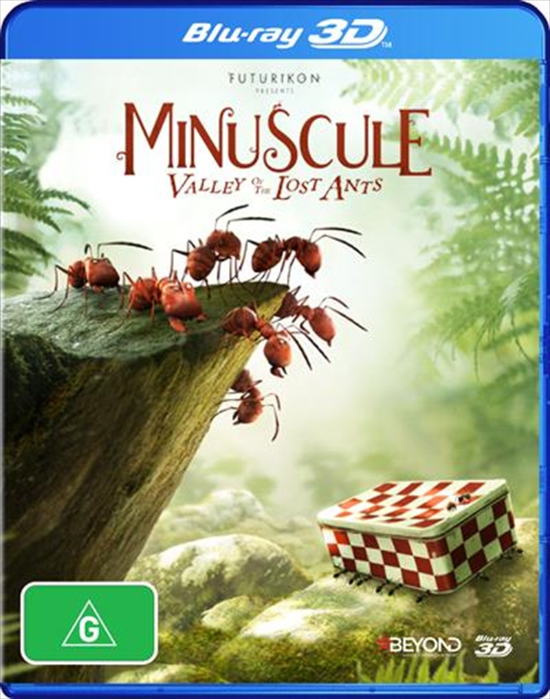Minuscule - The Valley Of The Lost Ants | Blu-ray 3D