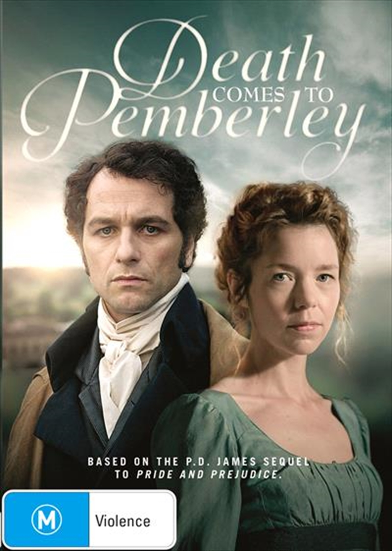 Death Comes To Pemberley   DVD
