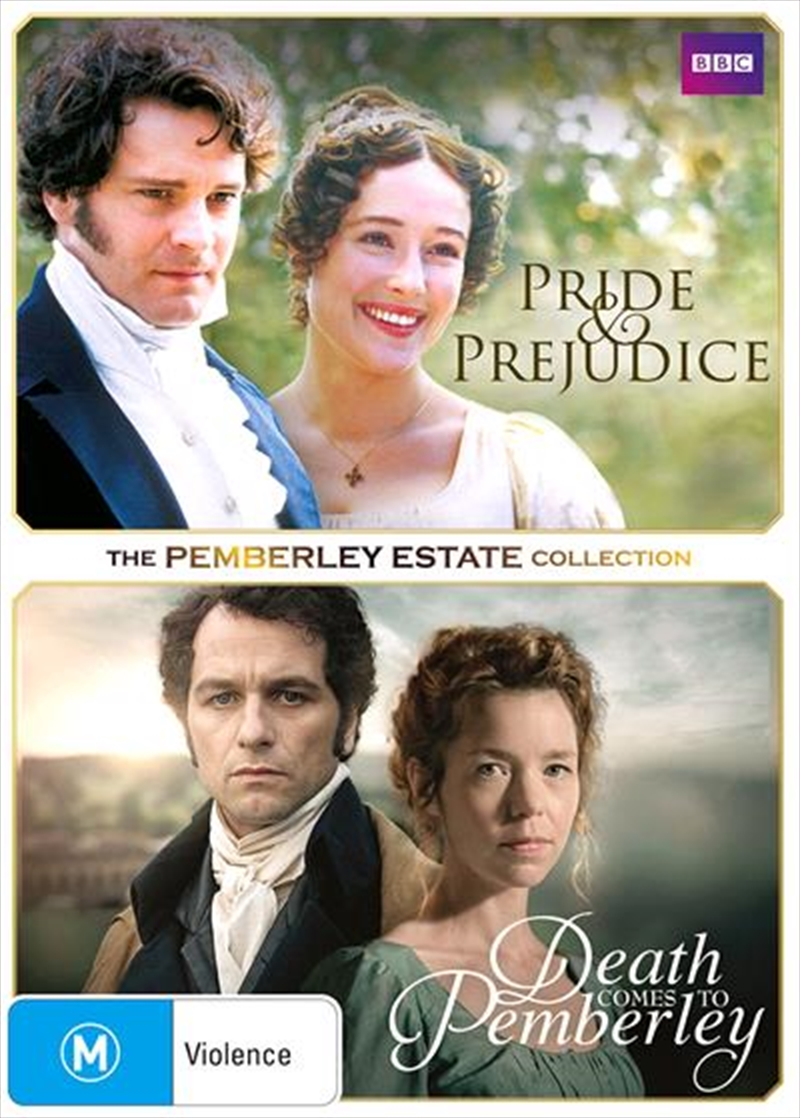 Death Comes to Pemberley / Pride and Prejudice | Double Pack | DVD
