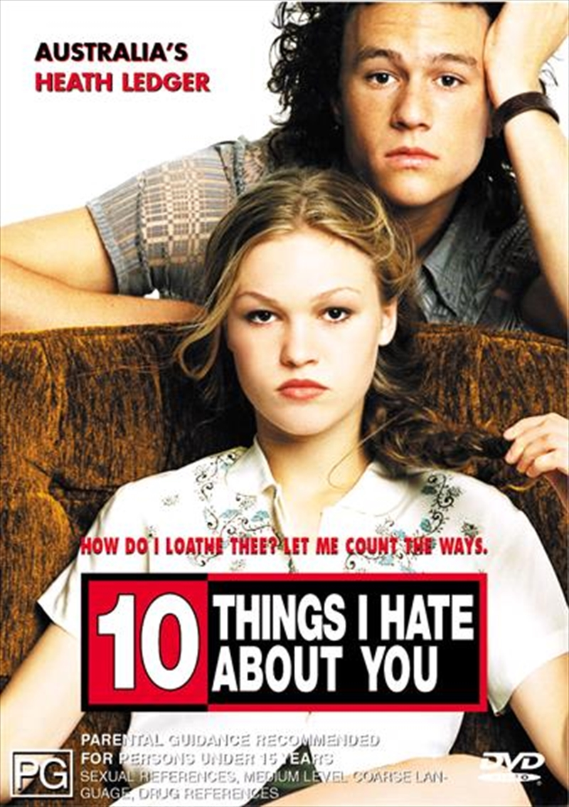 10 Things I Hate About You | DVD