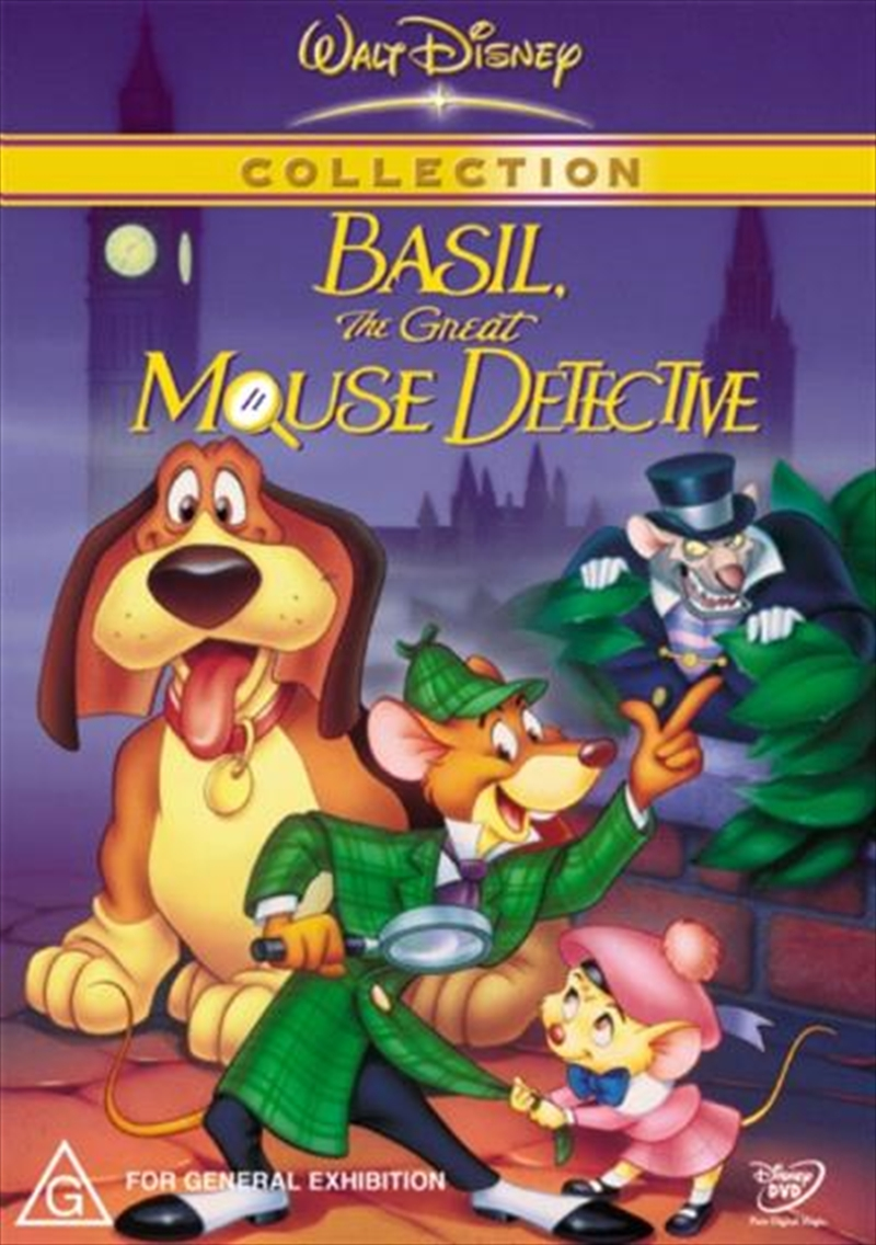 Basil: The Great Mouse Detective | DVD