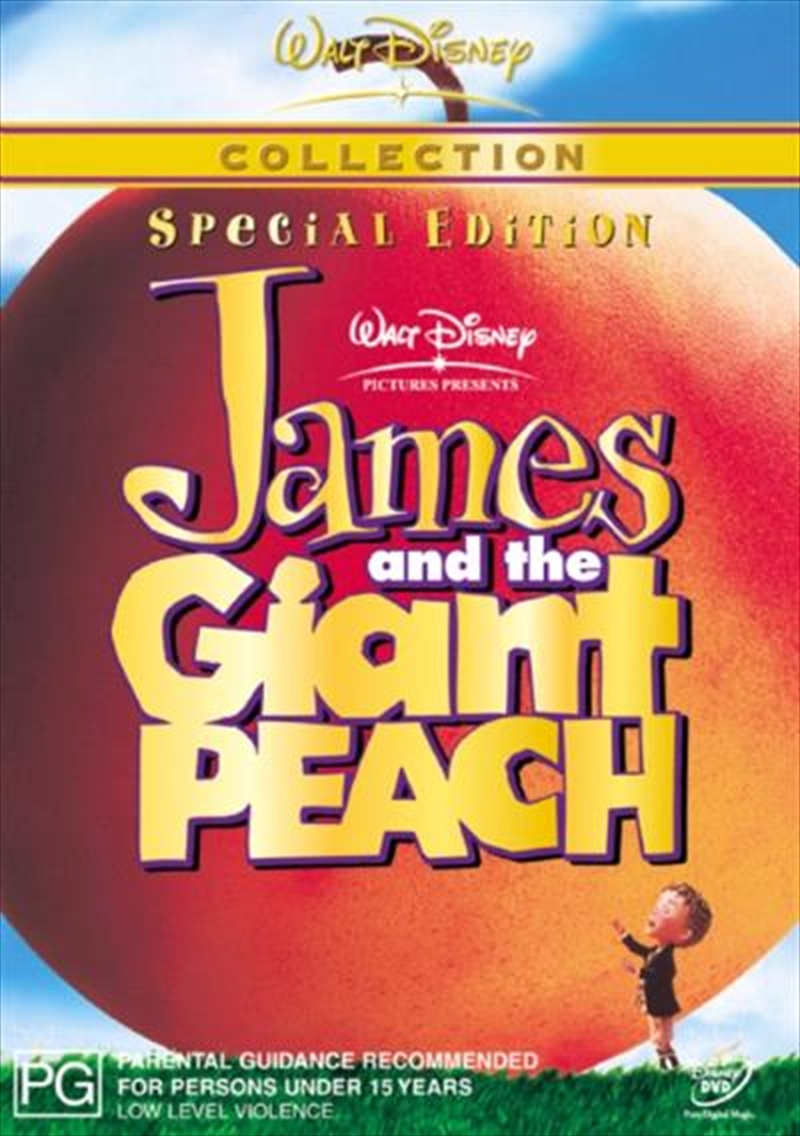 James And The Giant Peach   DVD