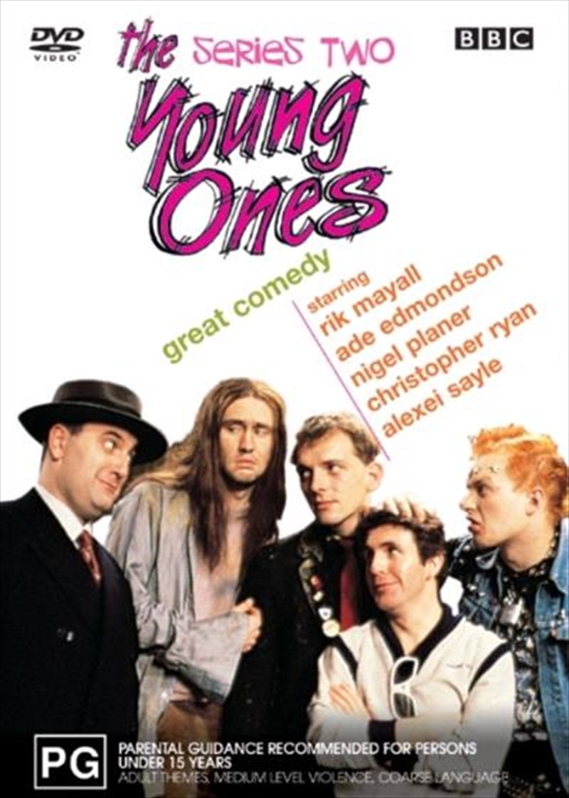 Young Ones, The - Series 02 (DVD) | DVD