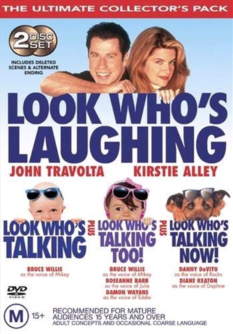 Look Who's Talking Ultimate Collector's Pack | DVD