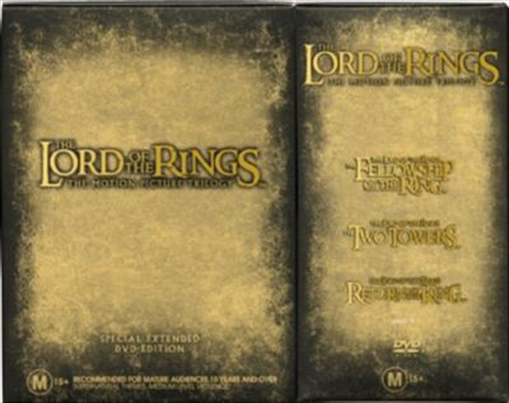 Lord Of The Rings - The Extended Trilogy Pack | DVD