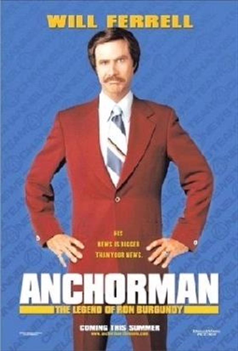 Anchorman - The Legend Of Ron Burgundy | DVD