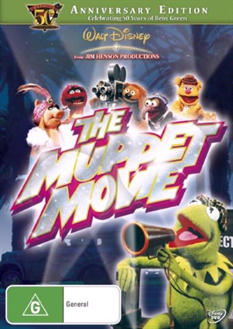 Muppet Movie, The  - 50th Anniversary Edition | DVD