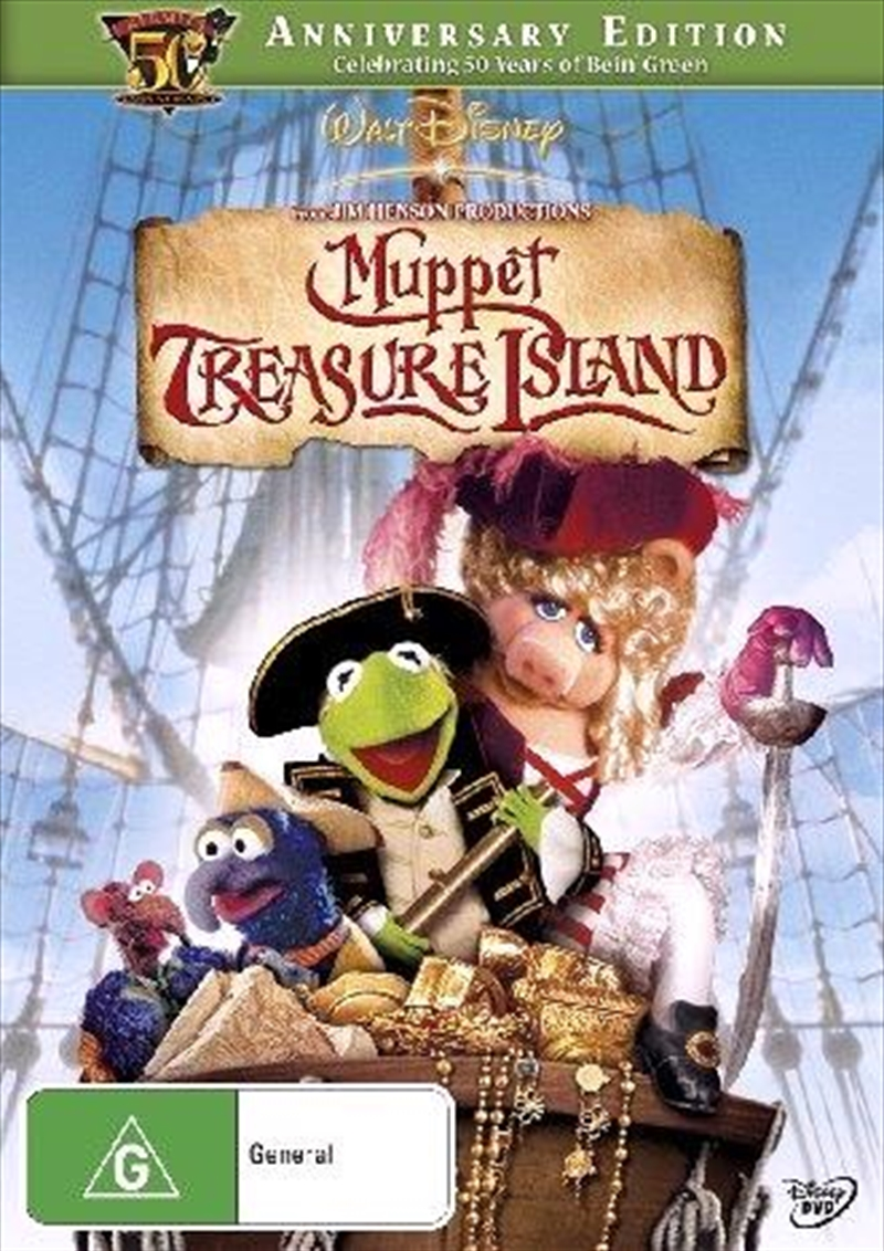 Muppet Treasure Island  - 50th Anniversary Edition | DVD
