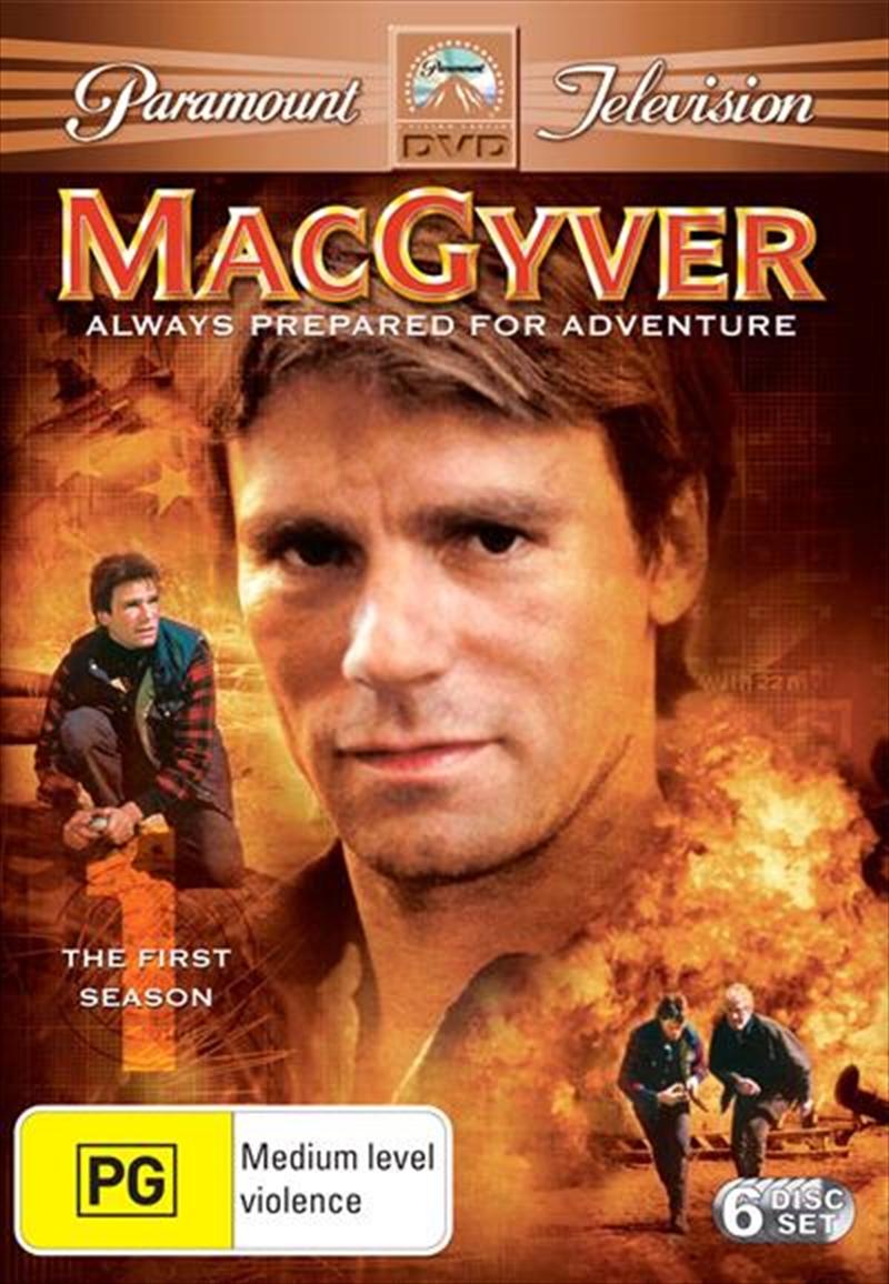 MacGyver - Season 01   DVD